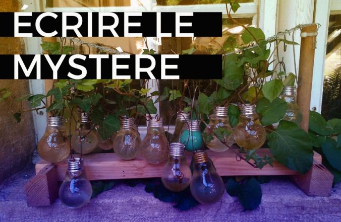 blog écrire mystère