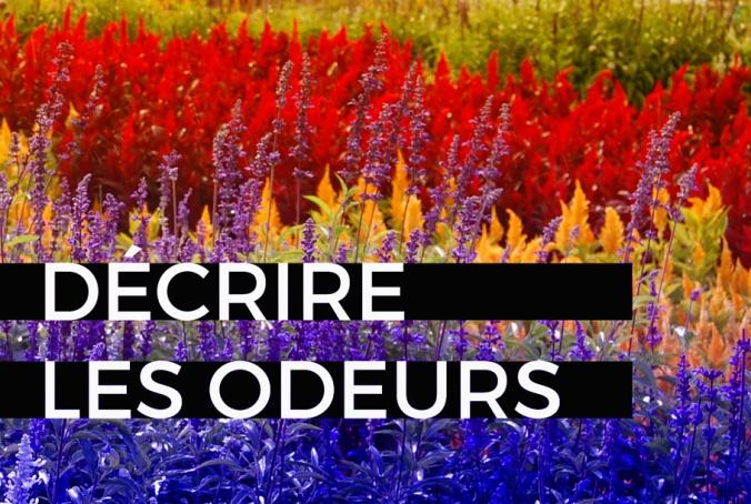 blog décrire odeurs