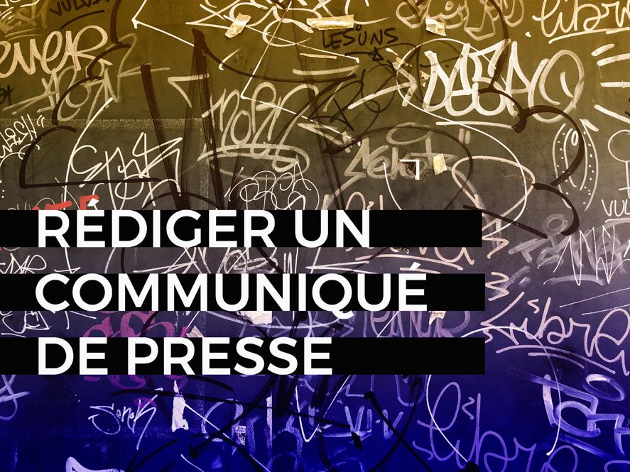 blog communiqué de presse