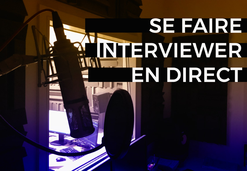 blog interviewer en direct